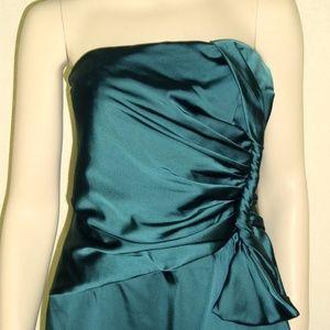 Jones New York NWT Twist Bow Strapless Dress